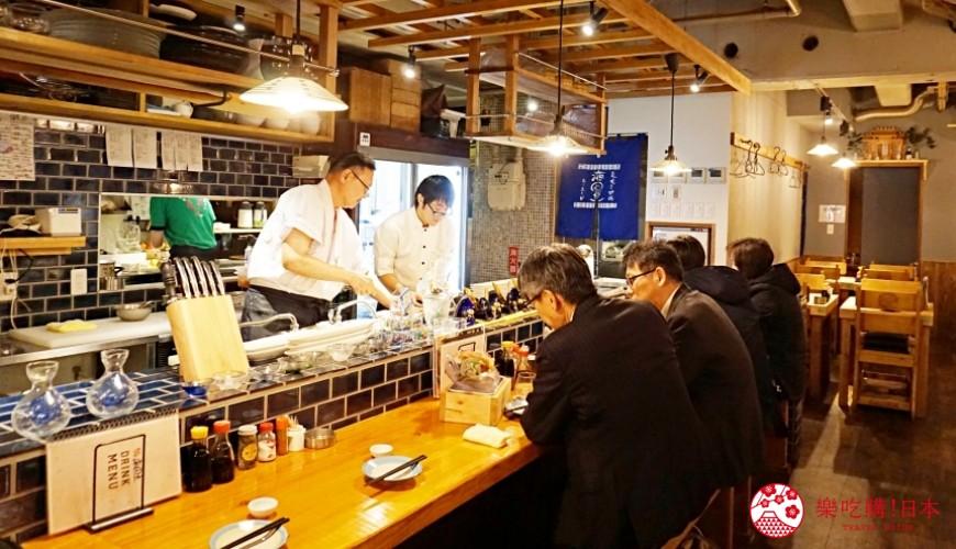 博多必吃高CP值海鮮居酒屋「海風土」店內照片