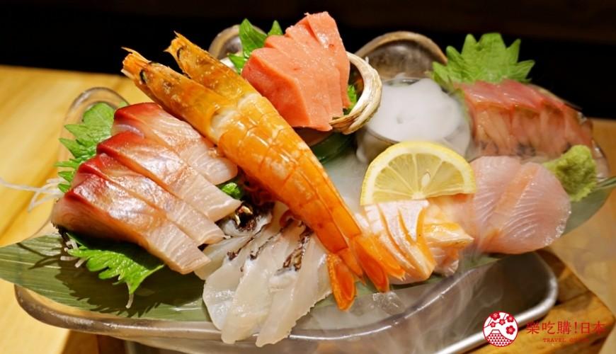 博多必吃高CP值海鮮居酒屋「海風土」的料理海之珠寶盒