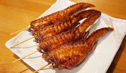 博多必吃的絕品牛腸鍋「もつ鍋二十四」,濃郁系味噌湯頭女性大推薦-24特製醬汁雞翅