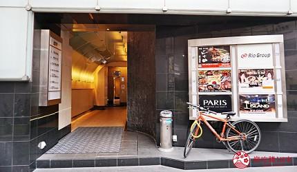 博多必吃的绝品牛肠锅「もつ锅二十四」,浓郁系味噌汤头女性大推荐-店门口