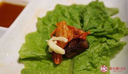 博多和牛烧肉吃到饱推荐烧肉卷次郎生菜包肉