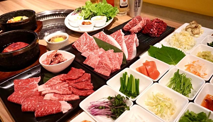 博多和牛烧肉吃到饱推荐「烧肉 卷次郎」C套餐集合